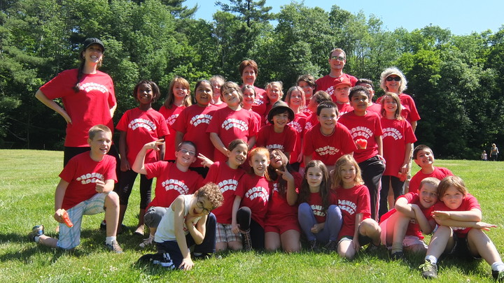 Moving Up Phoenicia 3rd Graders On Field Day! T-Shirt Photo