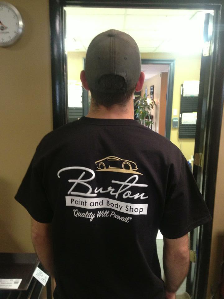 Burton's T Shirts! T-Shirt Photo