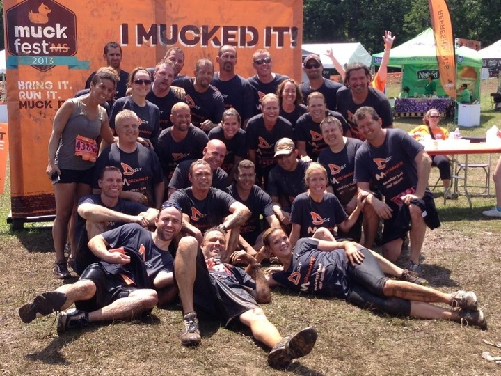 2013 Muckfest Nj Champions! T-Shirt Photo