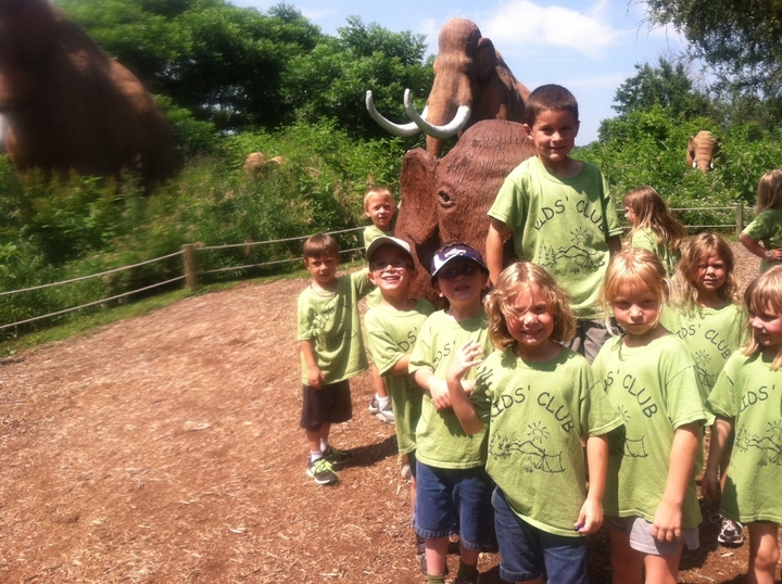 Kids' Club Dino World Trip T-Shirt Photo
