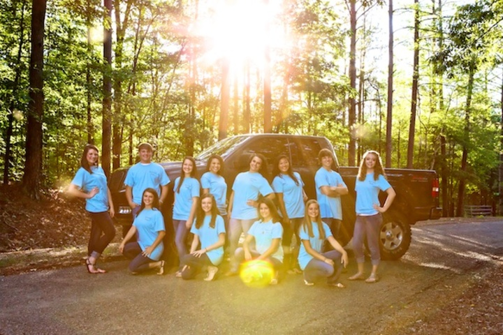 Group Model Shot W/Sun Flare T-Shirt Photo