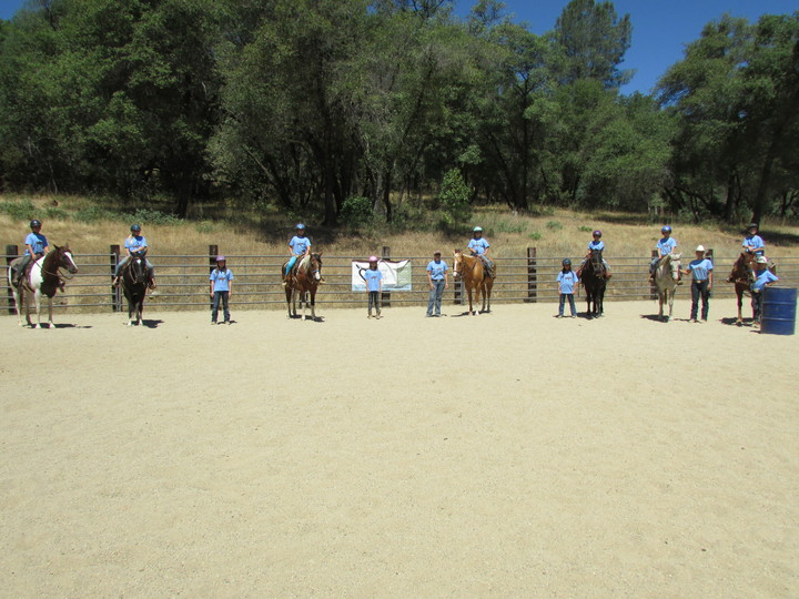 Summer Horsemanship Camp T-Shirt Photo