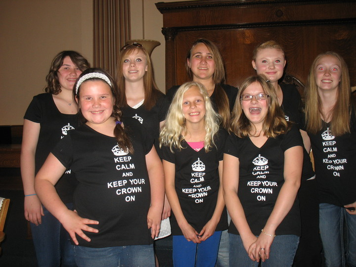 Job's Daughters Of Butte Montana T-Shirt Photo