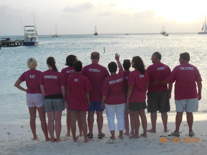 We Love Aruba T-Shirt Photo