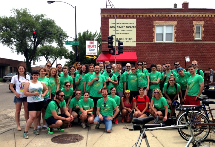 Tour De Franks 2013   Chicago, Il T-Shirt Photo