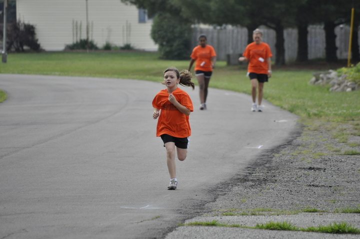 Briley Kelley Running Her Little Heart Out! T-Shirt Photo