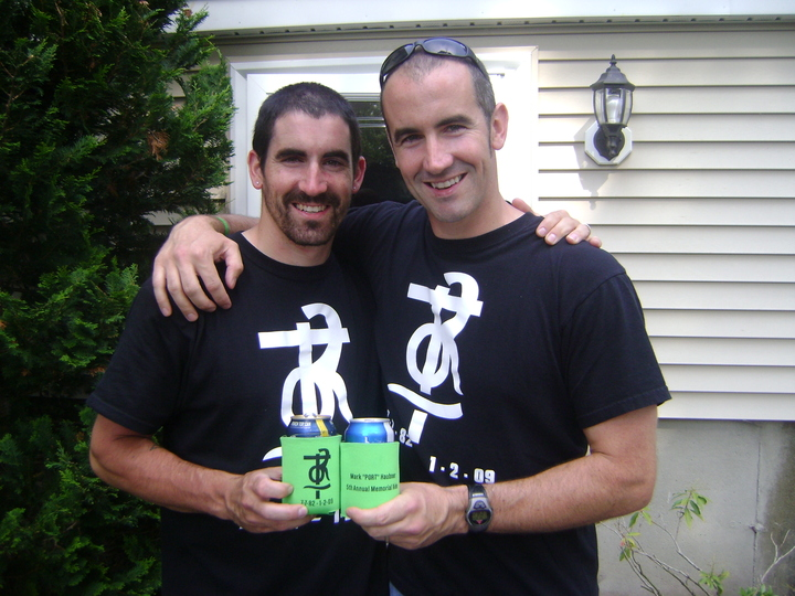 Mark's Brothers Ryan And Shawn T-Shirt Photo