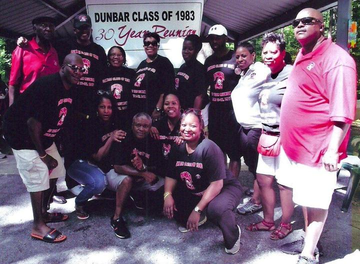 Dunbar Class Of 1983 30 Year Reunion T-Shirt Photo