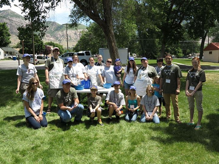 Volunteers For Weber State's Science In The Parks Program T-Shirt Photo