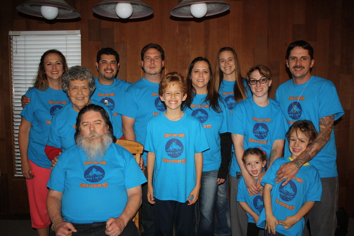 Tahoe Family Vacation T-Shirt Photo