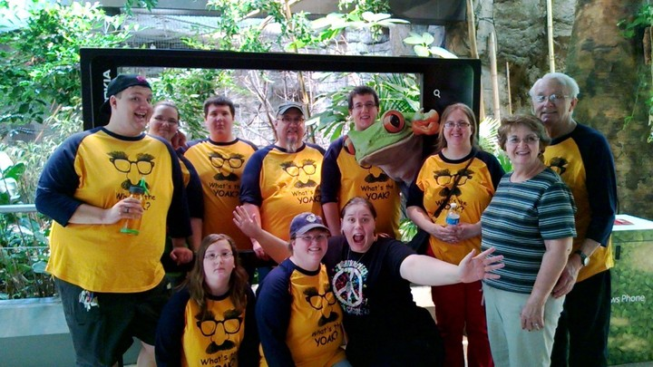 Yoak Family @ Cleveland Zoo T-Shirt Photo
