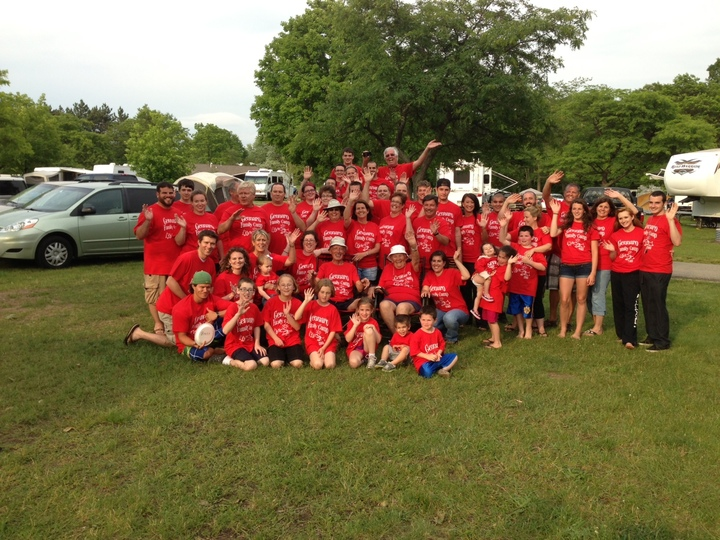 One Big Happy Family T-Shirt Photo