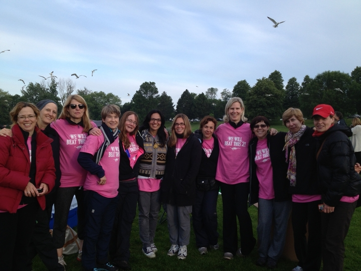 Wonderful Team Who Raised $19 K For Cancer T-Shirt Photo