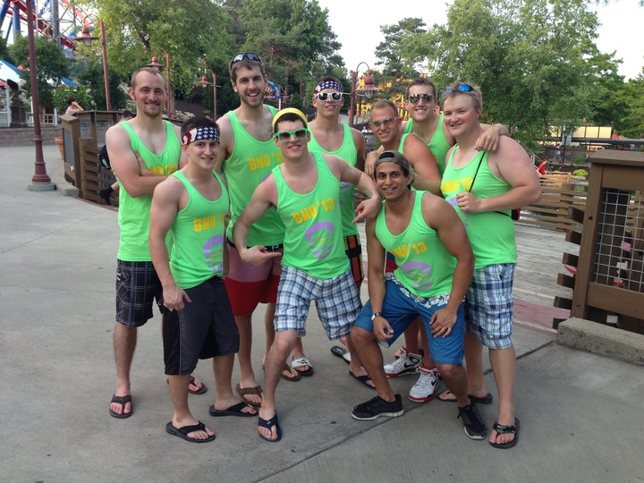 Boys Night Out! T-Shirt Photo