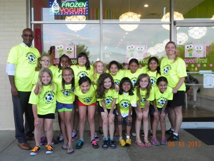 Lightning Soccer Team T-Shirt Photo