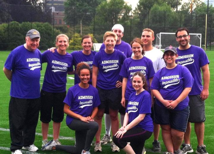 Admission Impossible Takes The Field T-Shirt Photo