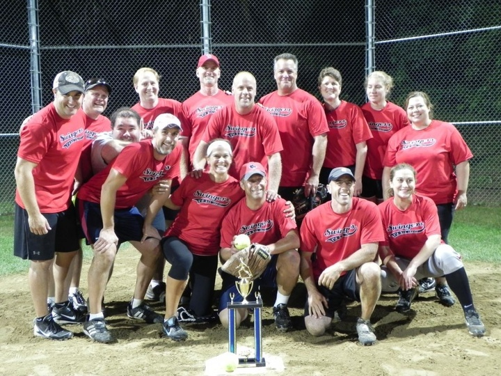 I'd Hit That!  Swingers Take The Trophy T-Shirt Photo