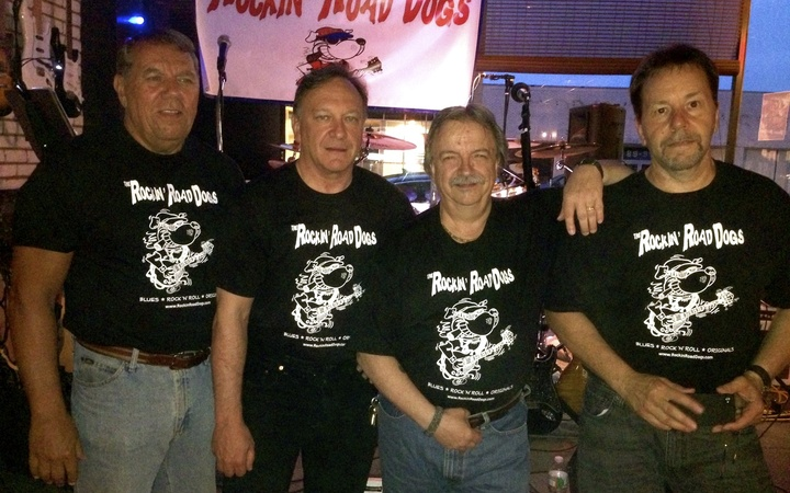 "These  Ol' ""Dogs"" Still Know How To Rock! T-Shirt Photo"