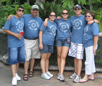 An Islands Of Adventure Family Affair T-Shirt Photo