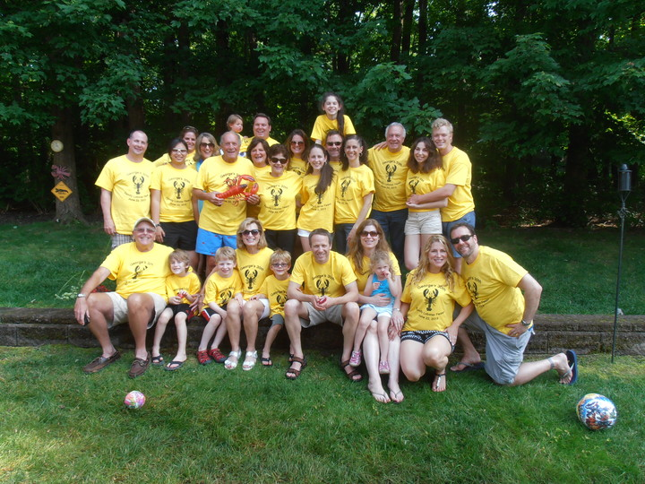 30th Annual Family Lobster Feast T-Shirt Photo