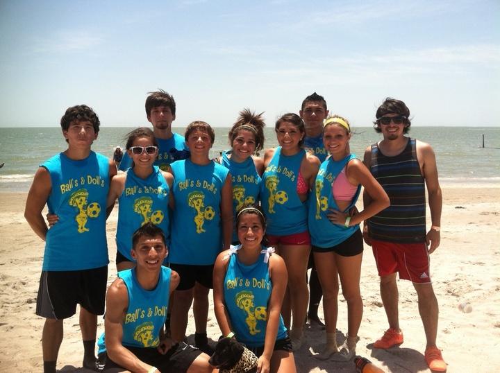 Beach Tournament Ball's & Doll's T-Shirt Photo