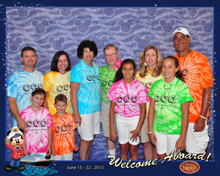 Our Disney Cruise T-Shirt Photo