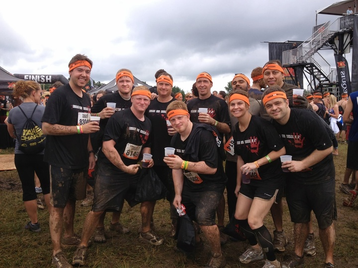 Tough Mudder Michigan   2013 T-Shirt Photo