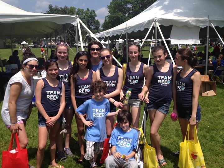 Team Reed Rocks The Westchester/Fairfield Autism Walk!! T-Shirt Photo
