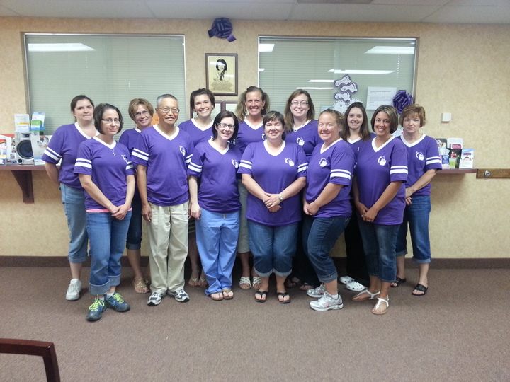 Meadville Ob/Gyn Associates Relay For Life 2013 T-Shirt Photo