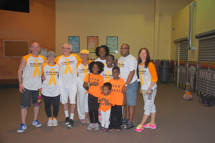 Team Jared   Leukemia Awareness Zumbathon T-Shirt Photo