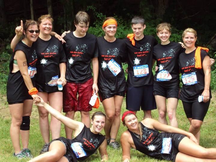 Mud Run 2013 T-Shirt Photo