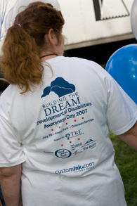 Building The Dream Developmental Disabilities Awareness Day T-Shirt Photo