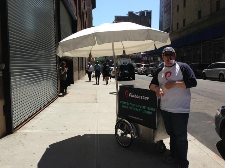 Pinbooster's Nyc Popsicle Giveaway! T-Shirt Photo