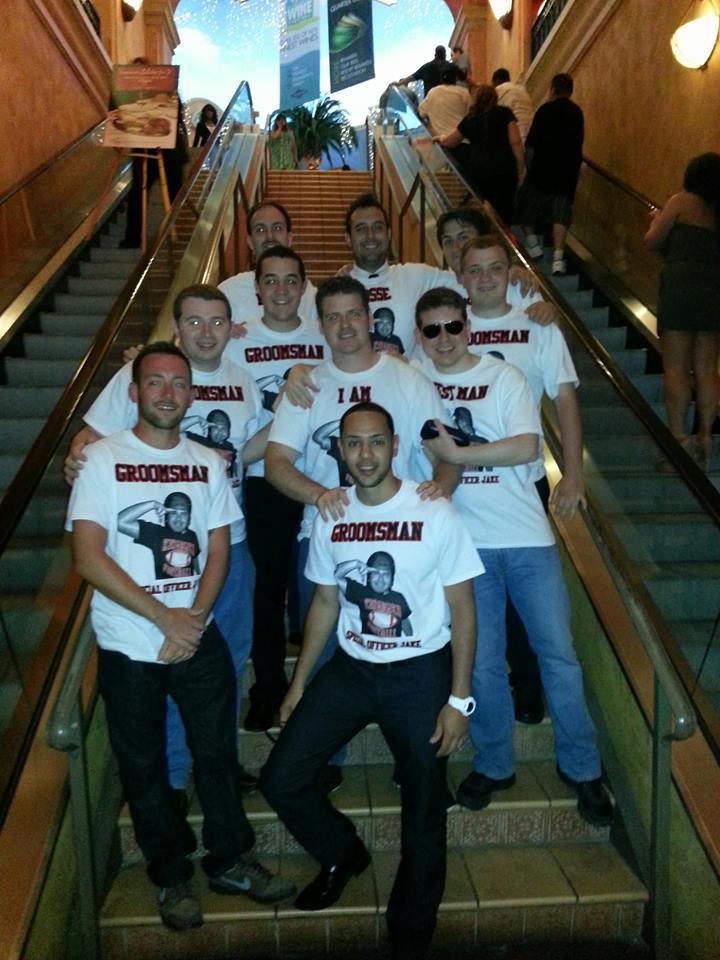 Jake's Bachelor Party T-Shirt Photo