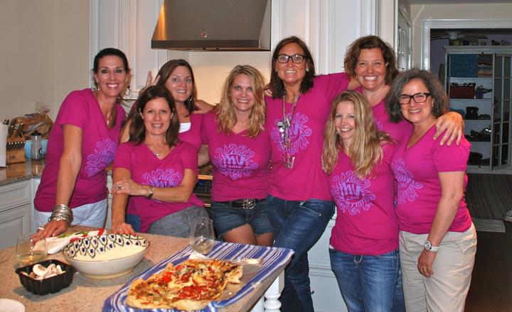 Chicks On The Vineyard! T-Shirt Photo