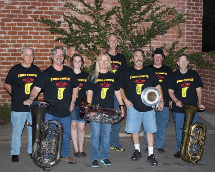 Members Of Tuba Force T-Shirt Photo
