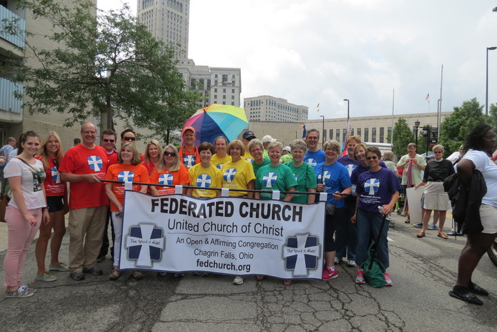 Federated Church Pride Parade Contingent T-Shirt Photo