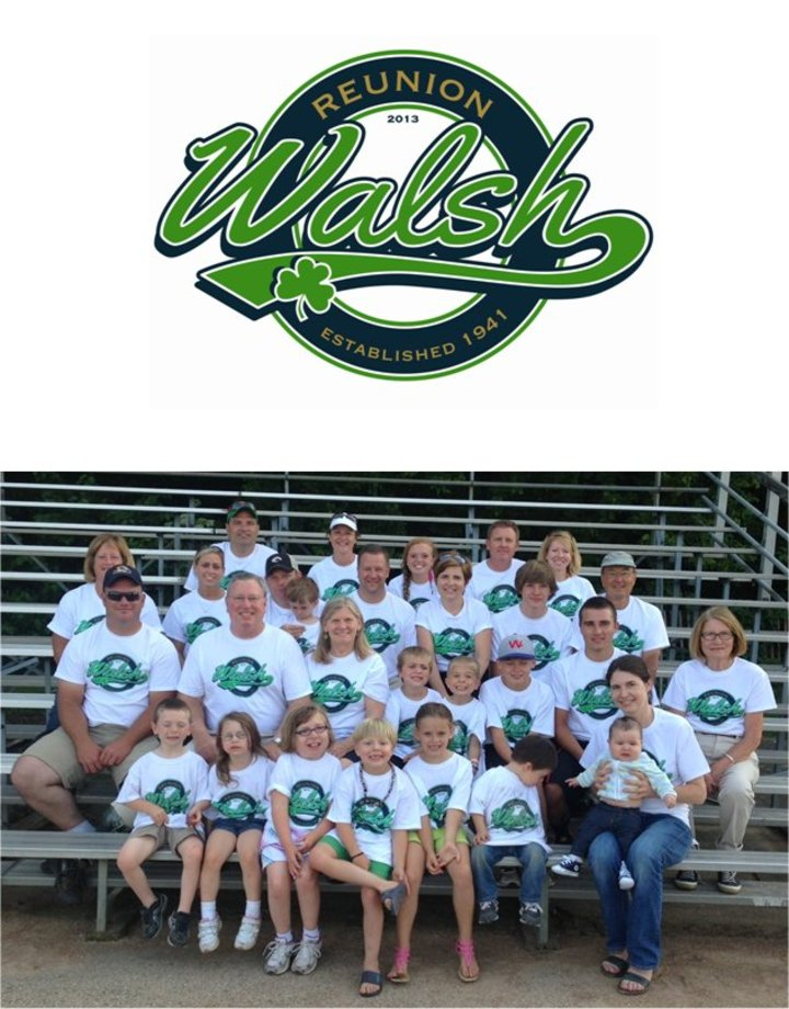 Walsh Family Reunion T-Shirt Photo