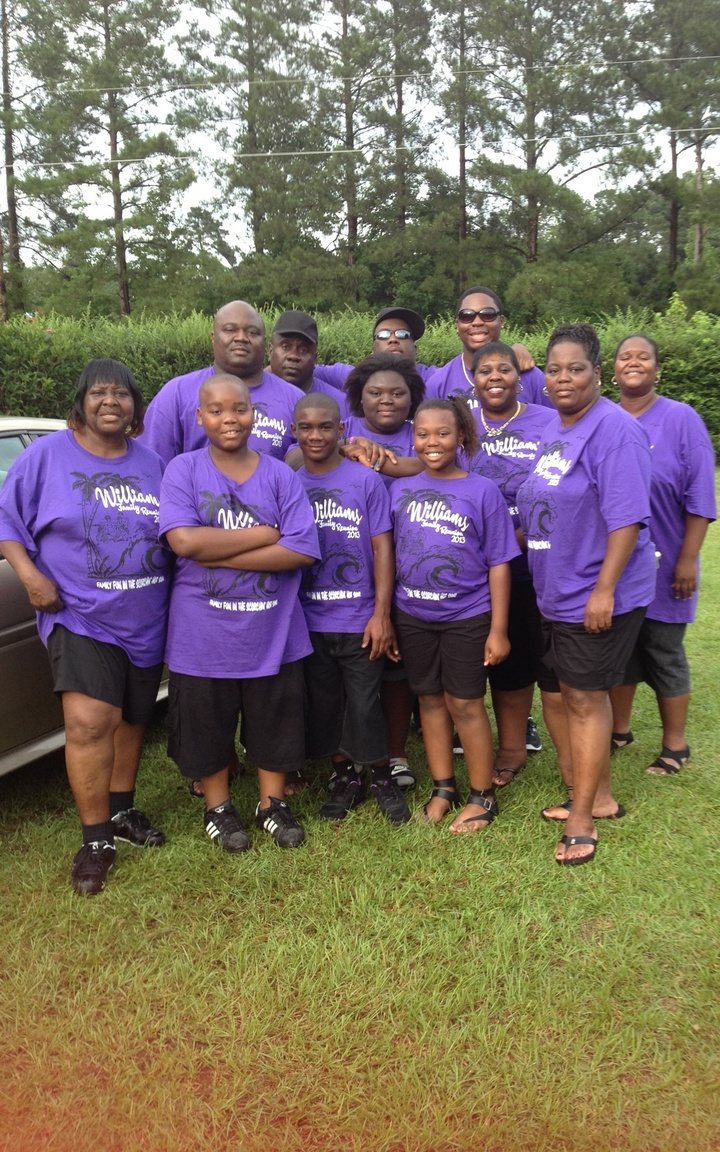 Williams Family Reunion '13 T-Shirt Photo