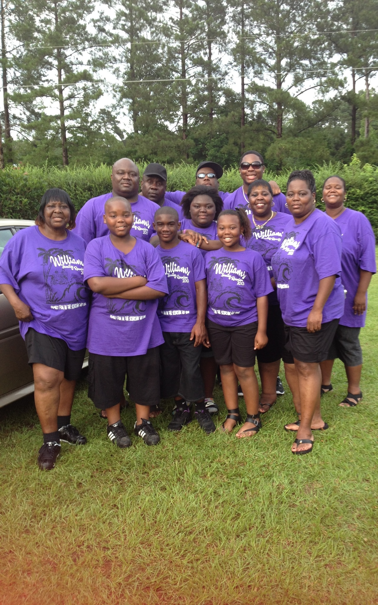 Design your own t-shirt for family reunion - Williams Family Reunion 13 T Shirt Photo