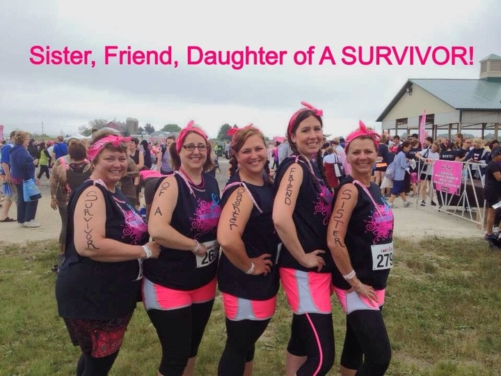 My Mom The Survivor T-Shirt Photo