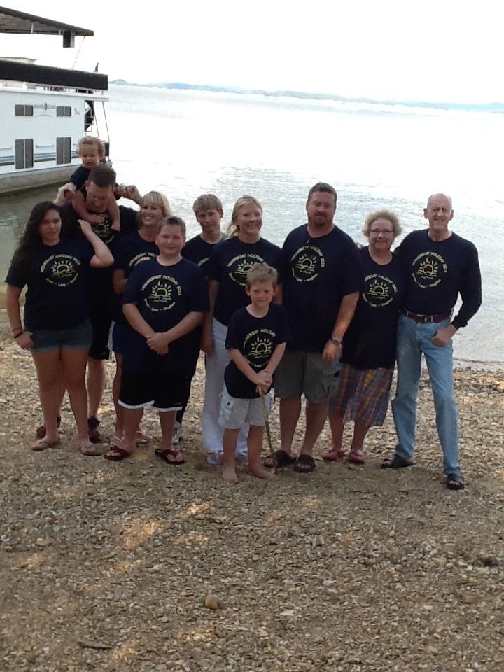 Houseboat Holiday Whole Crew T-Shirt Photo