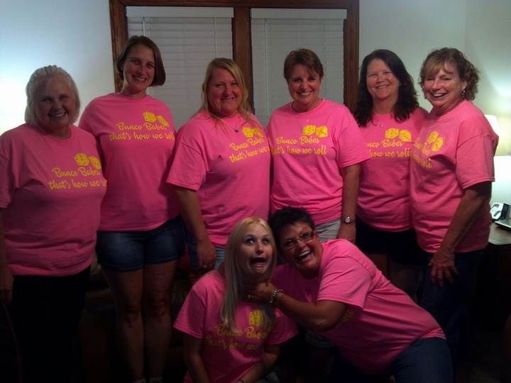 Bunco Babes  7/12/2013 T-Shirt Photo