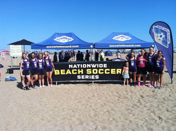 U14 Soccer In The Sand Champs   Ohio T-Shirt Photo