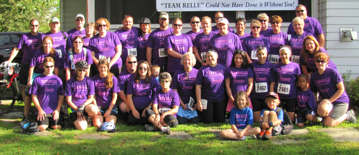 Team Relle 2013 Prouty Cancer Research Fundraiser T-Shirt Photo