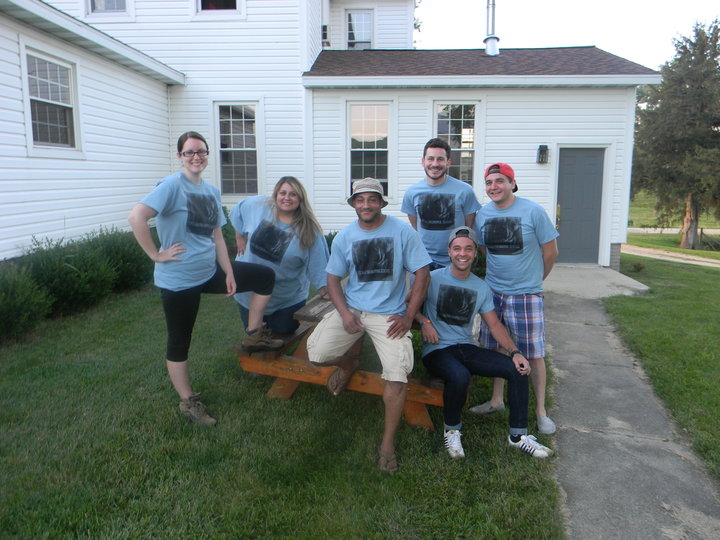 Our New T Shirts In Action! T-Shirt Photo