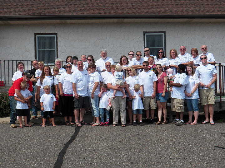 Rahn/Gripp Reunion 2013 T-Shirt Photo