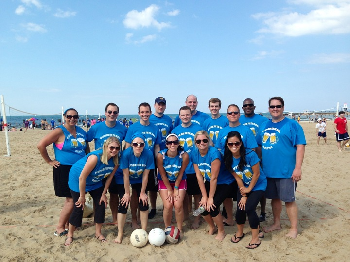 2013 Annual Volley Ball Tournament T-Shirt Photo