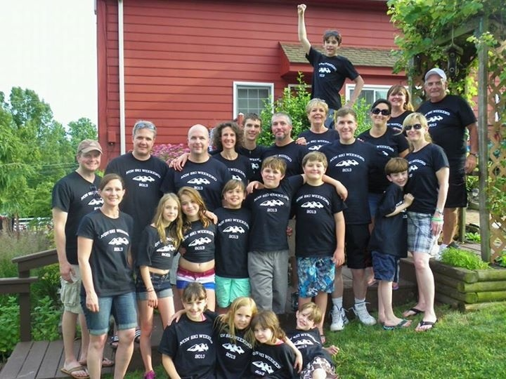 Our Family Non Ski Weekend T-Shirt Photo