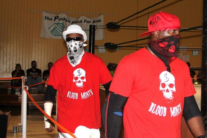 Tag Team Shirts Blood Money Style T-Shirt Photo